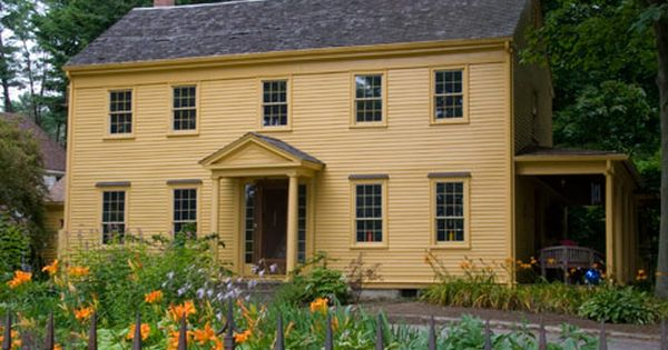 Colonial Houses Anagram Press Colonial House Exteriors Colonial Exterior Colonial House