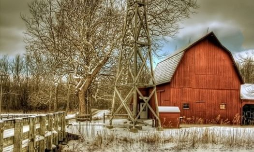 15 Most Beautiful Places To Visit In Indiana A Well Snow And The Road