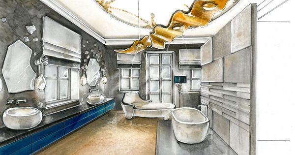 Raumkonzepte peter buchberger project maria theresia for Interior design studieren