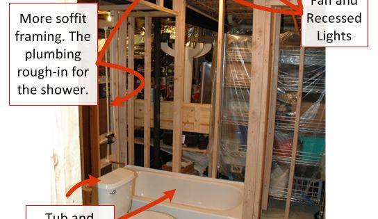 Diy Basement Bathroom Installation Basement Remodel Pinterest Bathroom Installation