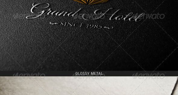 Photorealistic Logo Mock-Up Bundle – Logo Product Mock-Ups