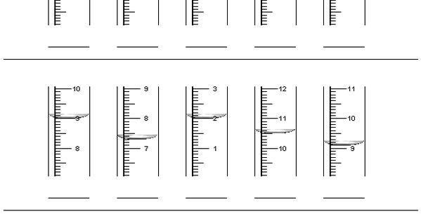 reading a rain gauge worksheets school daze pinterest more rain gauge worksheets and math. Black Bedroom Furniture Sets. Home Design Ideas