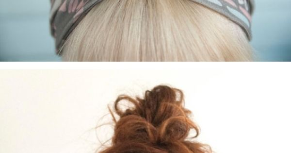 DIY hair Wrap. Yes! So cute!!
