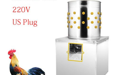 Stainless 2 2 Lbs Chicken Plucker Plucking Machine Poultry De Feather Used Chicken Plucker Chicken Saddle Chicken Cages