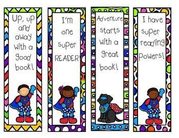 Reading Is My Superpower Coloring Page