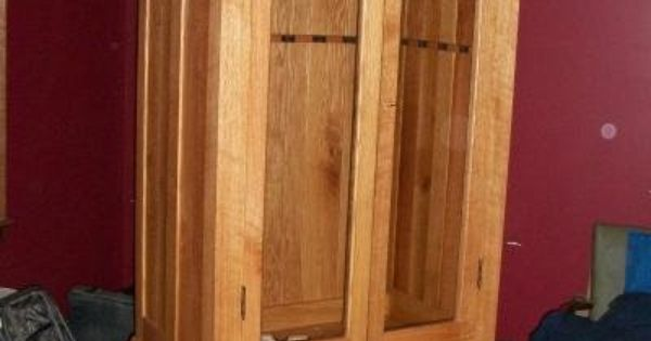 Custom Made Gun Cabinet Mission Style Furniture And