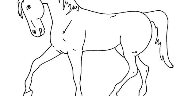Horse Coloring Pages For Kids Free Printable Coloring