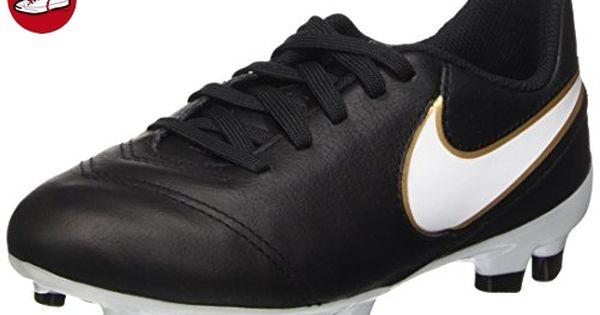 Nike Tiempo Legend Kinder VI FG Jr Unisex Kinder Legend Fußballschuhe, Schwarz ... 16f25e