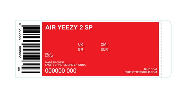 Kanye West Will Give Away 50 Pairs of the Upcoming Red Nike Air ...