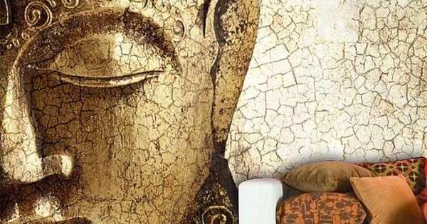 Buddha Wall Mural Repositionable Peel And Stick By