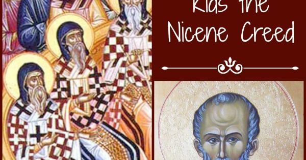 "nicene creed assignment (just handed this in an assignment in ""translation"") write a ""translation"" or paraphrase of the apostles' creed or the nicene creed into contemporary vernacular english."