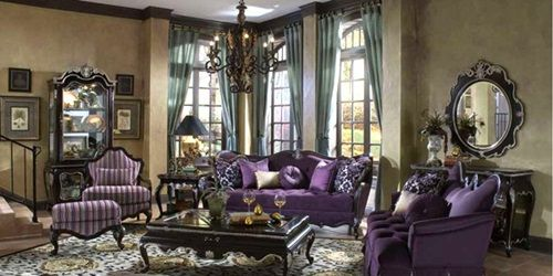 Victorian Living Room Curtain Ideas Victorian Style With Images