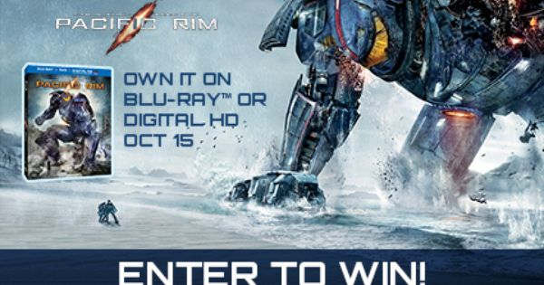 Win Pacific Rim On Blu Ray Giveaway Pacific Rim Legendary Pictures Giveaway
