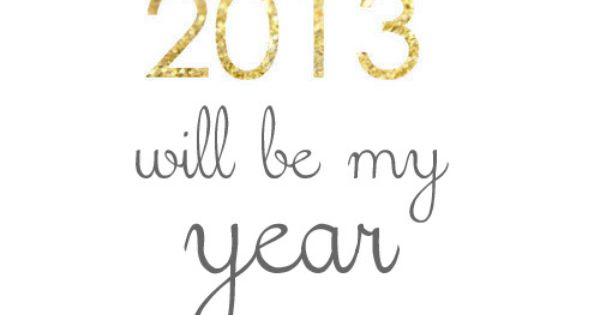 There were too many tears in 2012. I can't wait to get