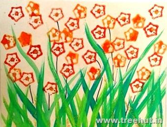 Easy Flower Coloring Pages In 2020 Paper Crafts Diy Kids Flower Coloring Pages Vegetable Painting