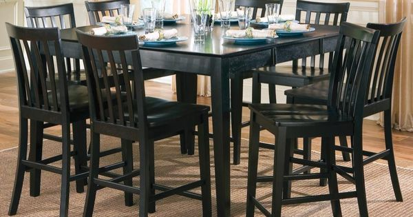 Pines Nine Piece Counter Height Dining Set Products