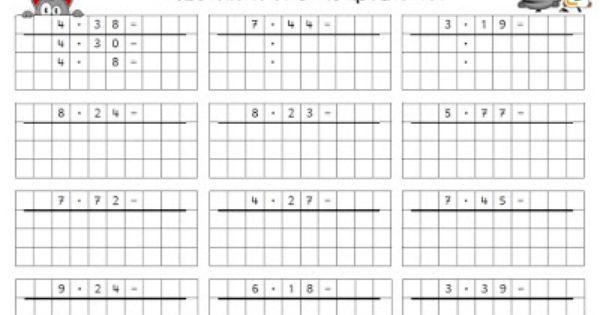Endlich Pause 2.0: Halbschriftliches Multiplizieren ...
