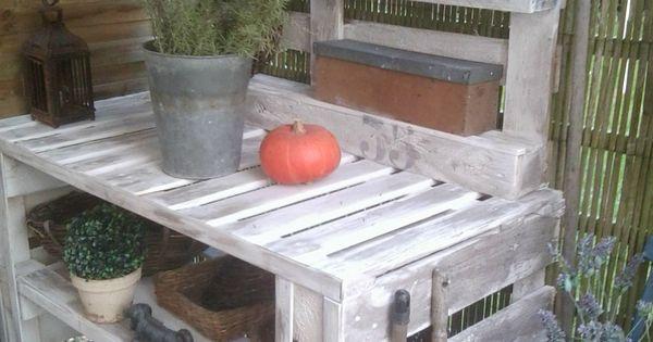 Tabli de jardin palette bois recherche google au - Recherche table de jardin ...