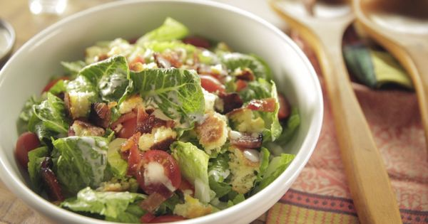Cornbread Salad With Buttermilk Chive Dressing And Maple