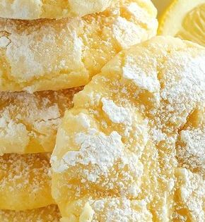 Gooey Butter Cookies Calling For Boxed Yellow Cake Mix