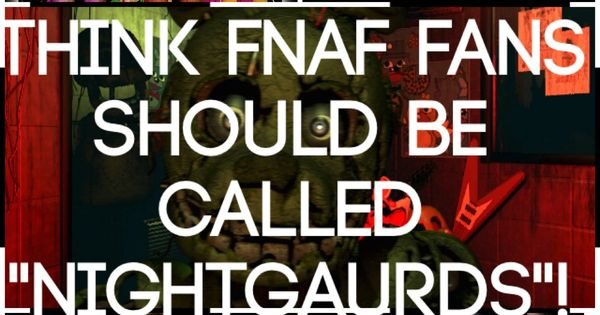 That s not a bad idea fnaf pinterest fnaf what is this and we
