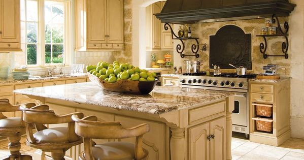 Beautiful Tuscan Kitchens Pinterest House Interior