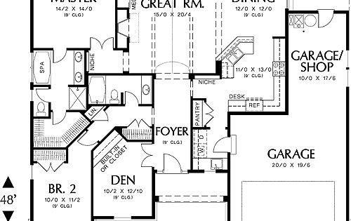 Ranch Home Plan House Pinterest Floor Plans House Plans And