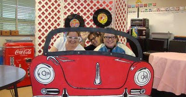 Classroom Ideas Kindergarten ~ Cool photo booth idea party fifties pinterest