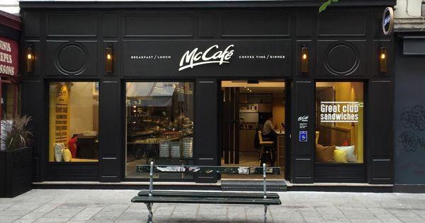 Un Mcdo Sans Burgers Exterieur Restaurant Design Interieur De Cafe Design De Magasin De Cafe
