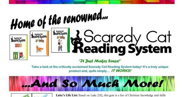 Joyce Herzog - Scaredy Cat Reading System: Level 1 - Pre-Reading Songs / The Story Of The Lettermaster; Who Gave The Letters Their Jobs