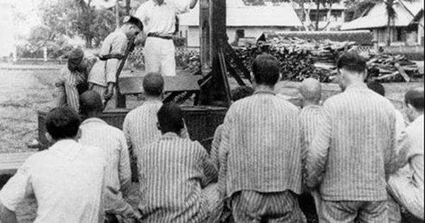 Une Execution Au Bagne Saint Joseph