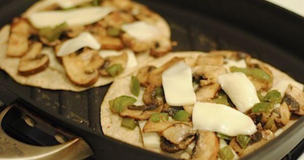 mushroom quesadillas | Yummmmmm | Pinterest | Quesadillas and ...