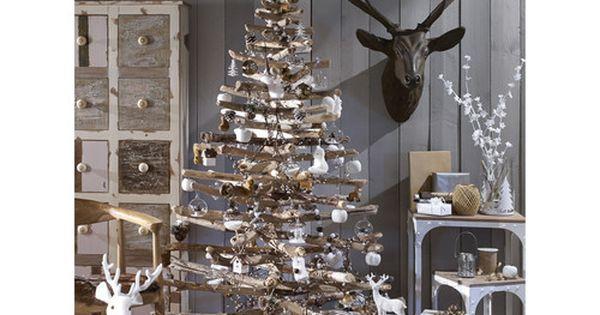 d co de sapin de no l for t scandinave maisons du monde no l 2015 pinterest arbres de. Black Bedroom Furniture Sets. Home Design Ideas