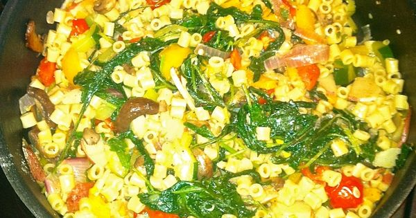 Summer ratatouille with pasta | Ratatouille and Pasta