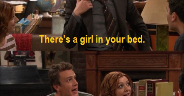 ah, the pineapple incident from How I Met Your Mother :)