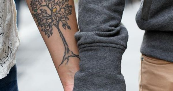 Tree tattoo on the arm. tattoo tattoos ink tattoo design tattoo patterns|