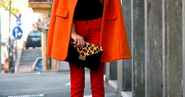 :: bold colors + leopard accents ::