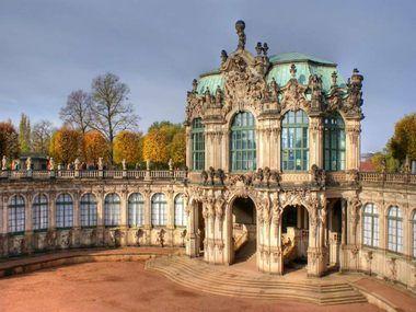 The Dresden Zwinger Dresdner Zwinger Famous Buildings Sistine Madonna Sistine