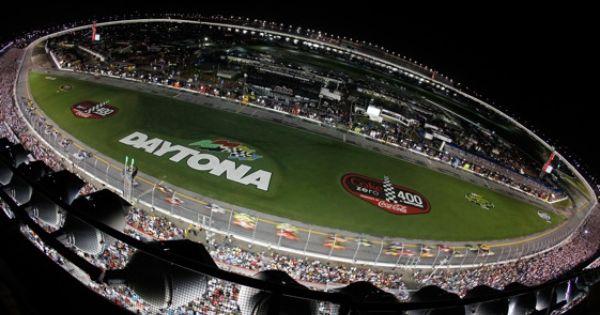 Night racing at the world center of racing daytona for Daytona motor speedway schedule
