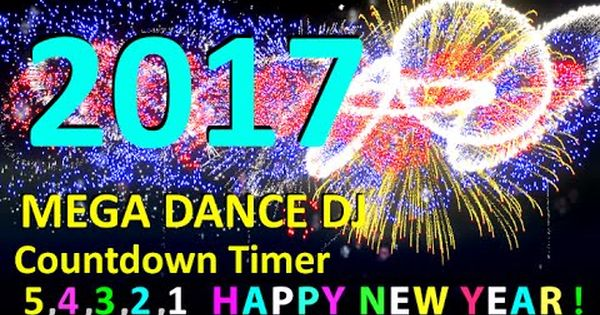Happy New Year 2017 Countdown