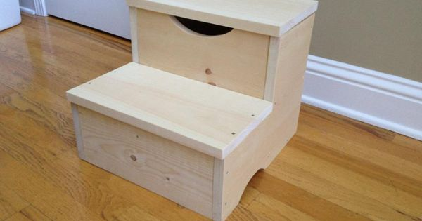 Storage Step Stool First Build Ana White Diy