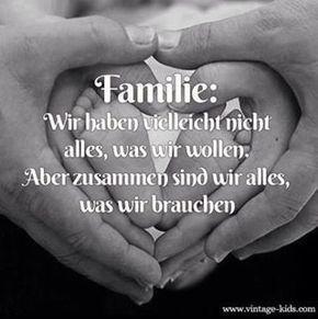 Sprüche familie liebe und Familie