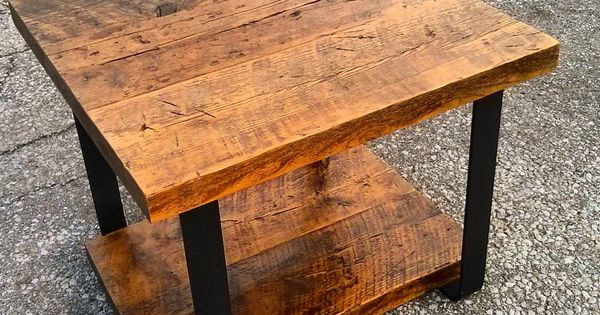 Custom Reclaimed Barn Board Nightstand For A Client By