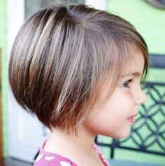 Short hairstyle for girl child