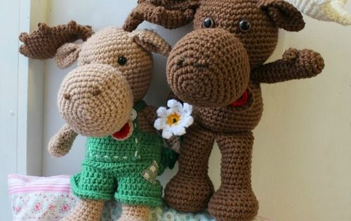 Amigurumi Freely Bear : Adorable Crochet Moose Pattern Yarns, Will have and Patterns
