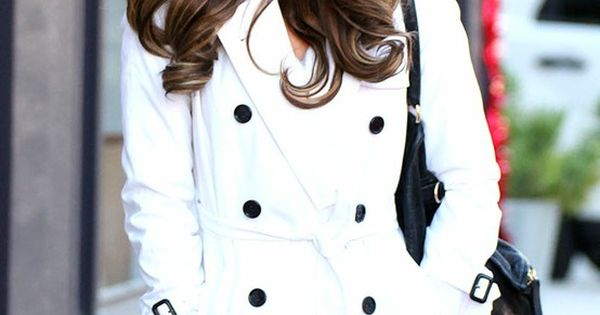 Winter Outfit - white coat