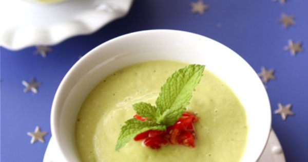 Chilled California Avocado Soup with Coconut Milk | Recipe