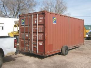 I Sell And Deliver Empty Shipping Containers And Needed A Way To Move Them Says Arizona Retailer And Ha Shipping Container Moving Containers Container House