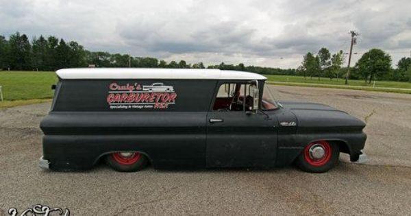 Buy Used 1962 Chevy C10 Panel Truck Suburban Air Ride Hot Rat Rod