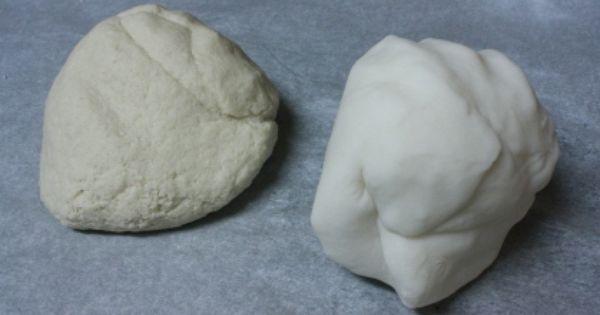 Corn Starch Clay Recipe vs salt dough